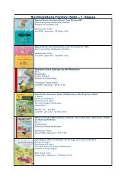 Buchhandlung Papillon Bühl – 1. Klasse