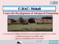 Mohali - ICMCC