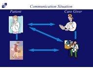 Communication Situation - ICMCC