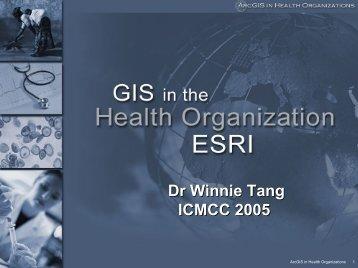 Public Health Organizations - ICMCC