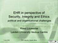 EHR in perspective of Security, Integrity and Ethics - ICMCC