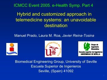Electronic Presentation Guidelines - ICMCC