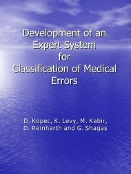 Development of an Expert System for Classification of ... - ICMCC
