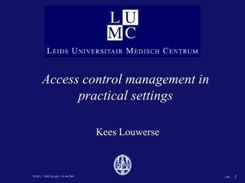 Presentation - ICMCC