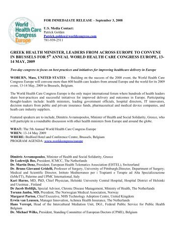 Press Release - ICMCC