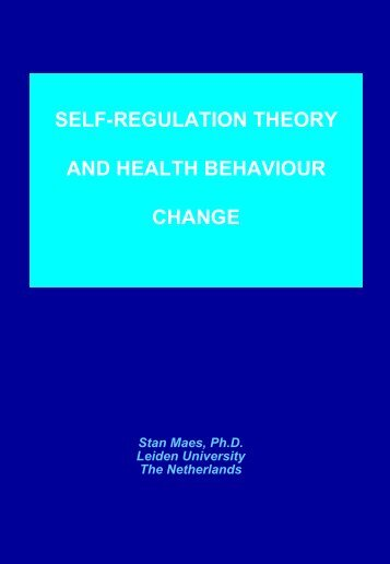 SELF-REGULATION IN HEALTH AND ILLNESS, FROM ... - ICMCC