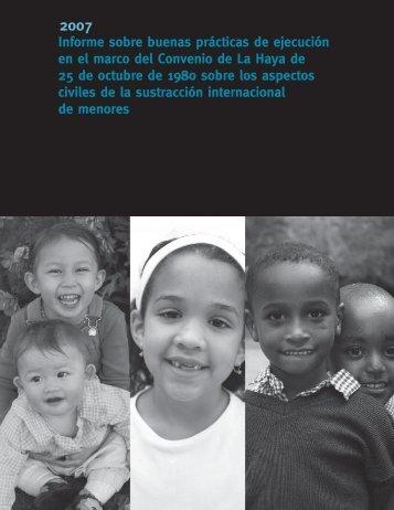 Informe sobre buenas prácticas de ejecución en el marco del ...