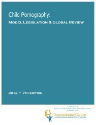 Child Pornography: Model Legislation & Global Review - polis