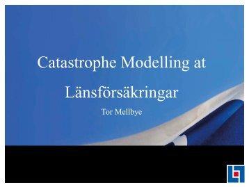 Catastrophe Modelling at Länsförsäkringar - icmif