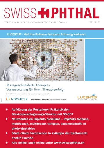 Swiss Ophthal 02-2013 - mechentel marketing