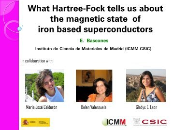 What Hartree-Fock tells us about the magnetic state of iron ...