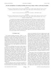 Ab initio calculations of scanning tunneling microscopy - Materials ...