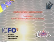 graphene (nano)-optoelectronics - Materials Science Institute of ...
