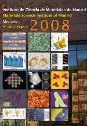 Untitled - Materials Science Institute of Madrid - Consejo Superior de ...