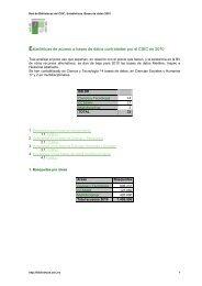 Búsquedas en Bases de datos multidisciplinares