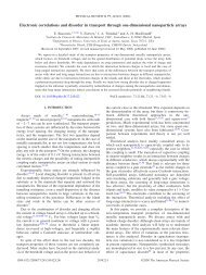 Electronic correlations and disorder in transport through one ...