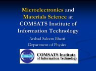 Synthesis and Characterization of Semiconductor Materials and ...
