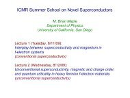 Unconventional superconductivity, magnetic and charge order and ...