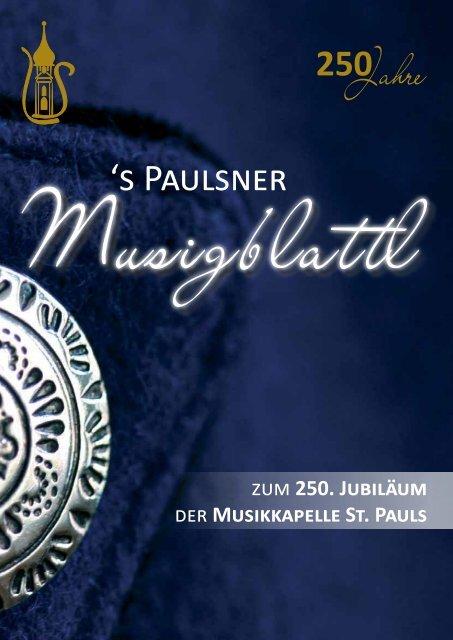Paulsner Musigblattl