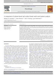 A comparison of volume-based and surface-based multi-voxel ...