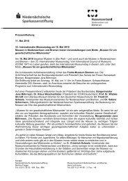 Pressemitteilung vom 11. Mai 2010 (.pdf) - ICOM Deutschland