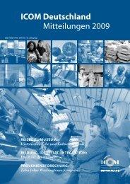ICOM Deutschland Mitteilungen 2009