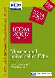 Museen und universelles Erbe - ICOM Deutschland