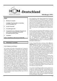 Mitteilungen 1999 (pdf, 372 KB) - ICOM Deutschland
