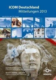 Mitteilungen 2013 (.pdf) - ICOM Deutschland