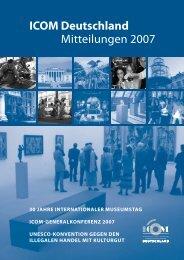 ICOM Deutschland Mitteilungen 2007