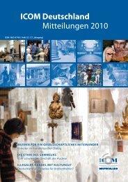 ICOM Deutschland Mitteilungen 2010