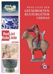 Rote Liste China - ICOM