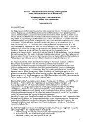 Tagungsbericht (.pdf) - ICOM Deutschland