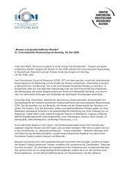 Mottoerklärung (.pdf) - ICOM Deutschland