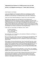 Tätigkeitsbericht 2008 (.pdf) - ICOM Deutschland