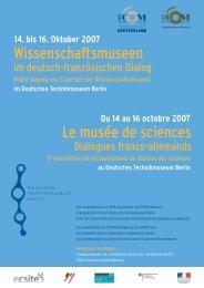 Tagungsprogramm (.pdf) - ICOM Deutschland