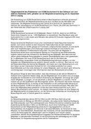 Tätigkeitsbericht 2009/2010 (.pdf) - ICOM Deutschland