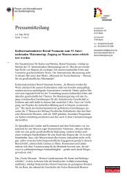 Pressemitteilung vom 14. Mai 2010 (.pdf) - ICOM Deutschland
