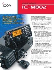 IC M802 Brochure - ICOM Canada