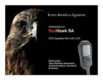 RedHawk SA presentation materials (pdf) - ICOM Canada