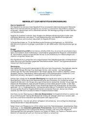 Merkblatt Hepatitis B - Landkreis Diepholz