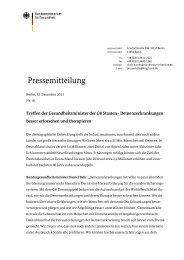 Pressemitteilung - Bund.de