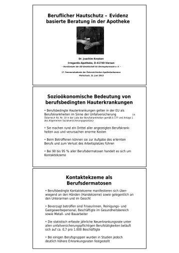 Download Präsentation als pdf - Österreichische Apothekerkammer