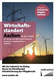 Wirtschafts- standort - Stadt Aachen