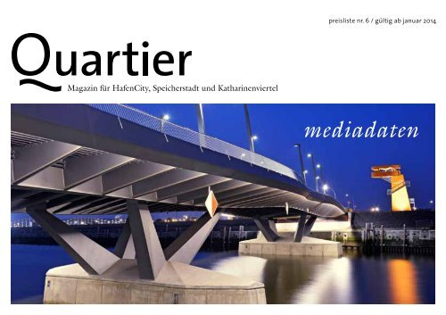 mediadaten - Quartier | Magazin