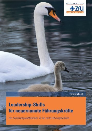 Leadership-Skills für neuernannte Führungskräfte - ZfU International ...