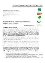 offenen Brief - Bio-berlin-brandenburg.de