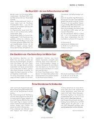 Neues über Produkte und Personen aus der Gastro-Branche