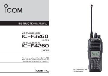 iF4260 iF3260 - ICOM Canada