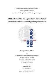 "CCL18 als Induktor der ""Epithelial to Mesenchymal ... - FreiDok"